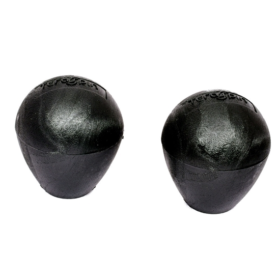 Picture of TeraSpin round black knob