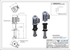 Picture of Ink pump with motor, B length - 318 mm