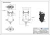 Picture of Ink filter with surge suppressor, 90 mesh SS cartridge