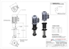 Picture of Ink pump with motor, B length - 240 mm