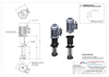 Picture of Ink pump with motor, B length - 280 mm